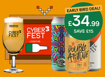 Cyber Fest 3 Online Beer Festival early bird discount