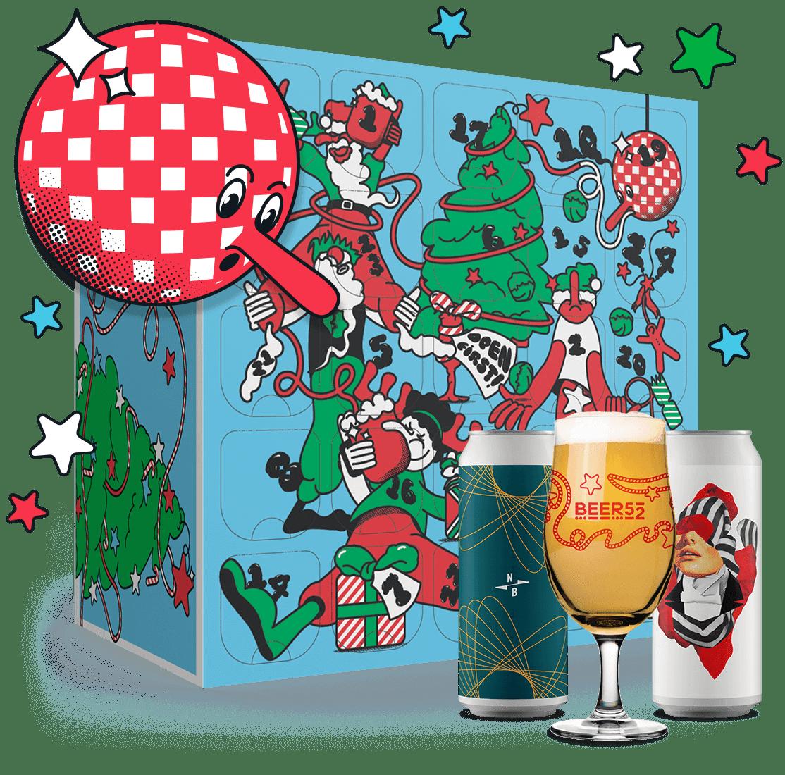 Beer52 craft beer advent calendar 2021