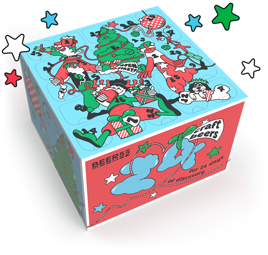 The Beer52 craft beer advent calendar is the best Christmas gift